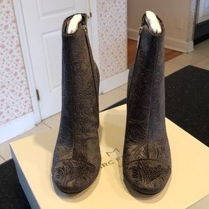 NWT Marc Fisher Suede Booties.